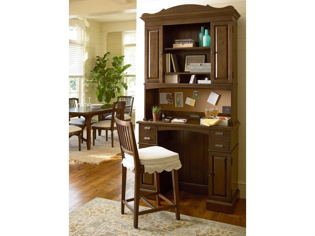 Shown with Family Organizer Desk and Hutch