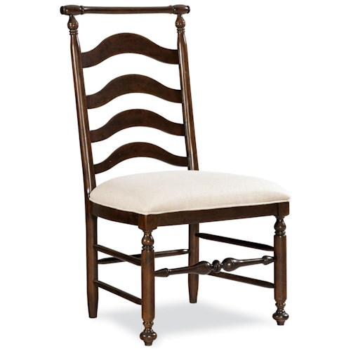 Universal River House Ladder Back Dining Side Chair