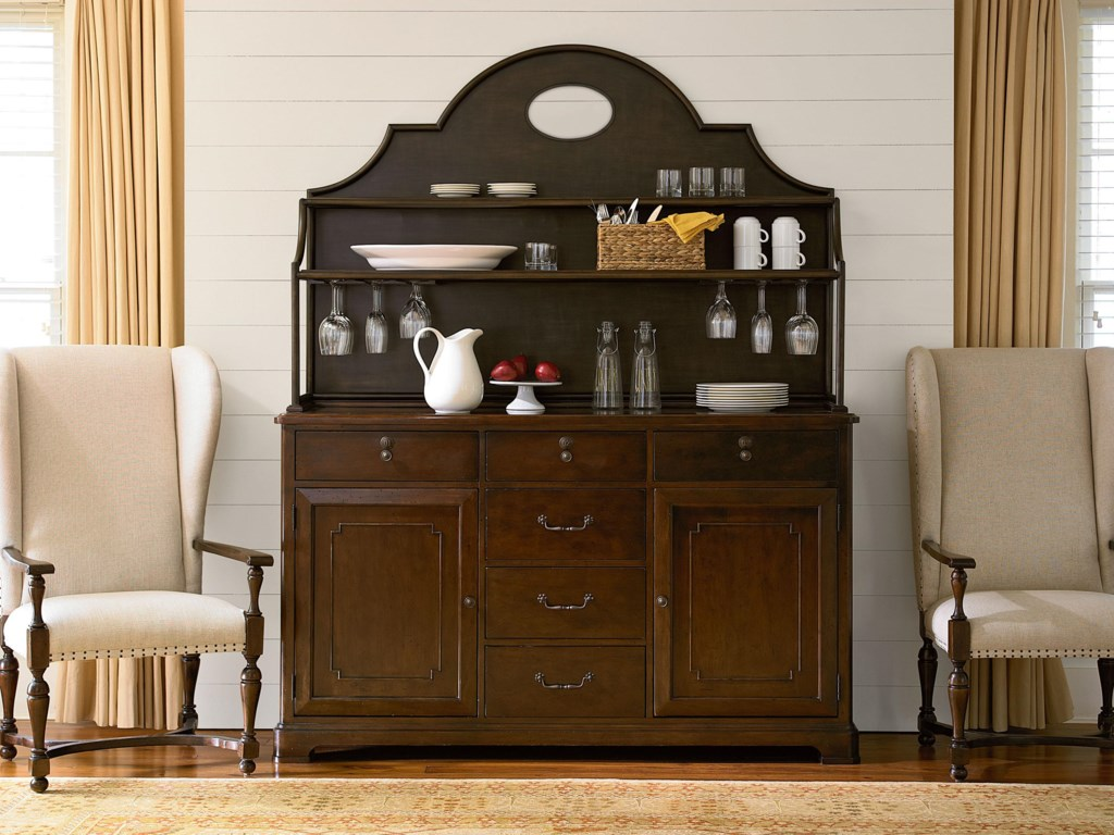 Shown with Hutch and Paula's Host & Hostess Chairs