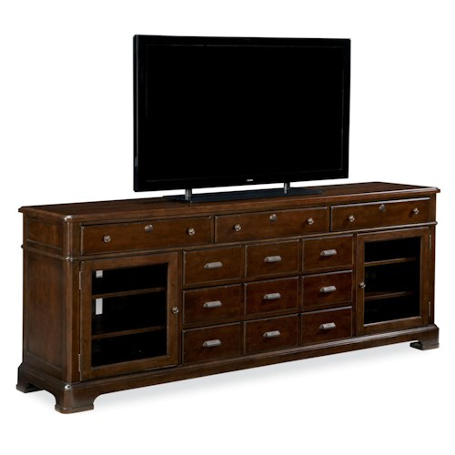 Universal River House 6 Drawer Entertainment Console