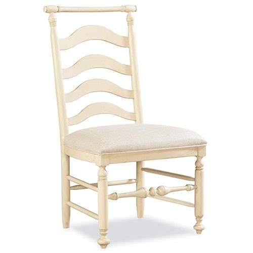 Morris Home Furnishings Riverside Ladder Back Dining Side Chair