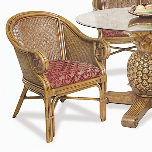 Pelican Reef Ocean Reef Dining Club Chair