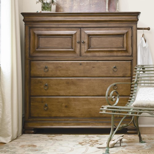 Morris Home Furnishings Newton Falls Dressing Chest with 3 Drawers
