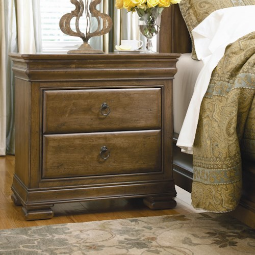 Morris Home Furnishings Newton Falls 2 Drawer Nightstand