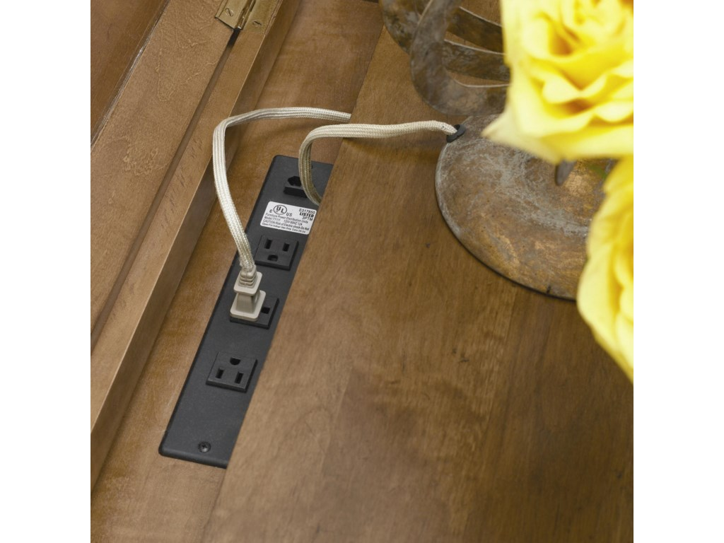 Lift-Top with Power Outlet