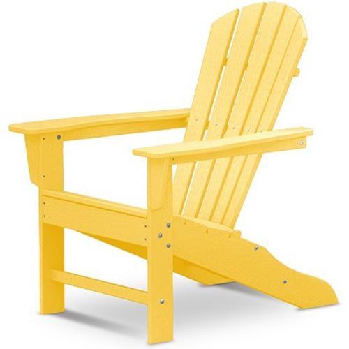 Polywood Palm Coast Adirondack Chair with Slat Design
