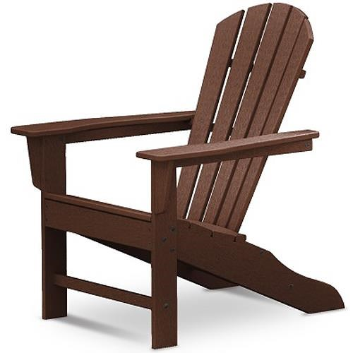Polywood Palm Coast Adirondack Chair with Slat Design