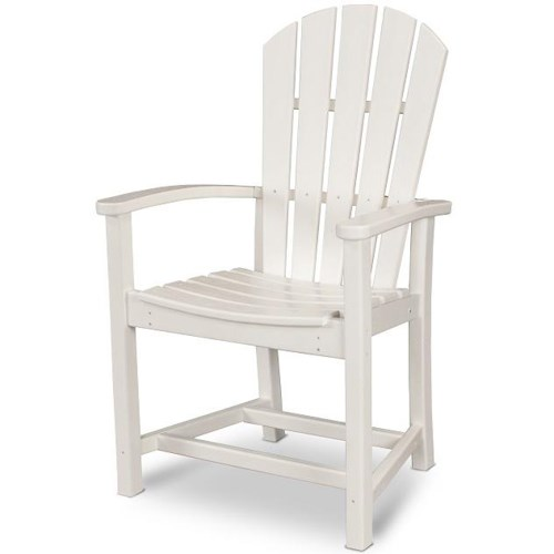 Polywood Palm Coast Dining Chair with H Stretcher