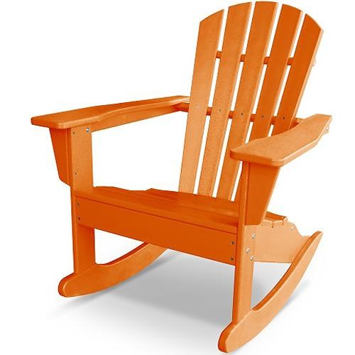 Polywood Palm Coast Adirondack Rocker with Slat Details