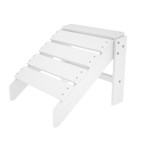 Polywood South Beach Ottoman with Slat Design
