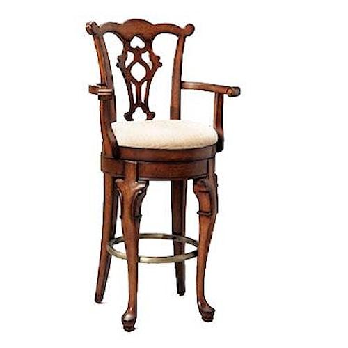 Powell Jamestown Landing Swiveling arm bar seating/stool