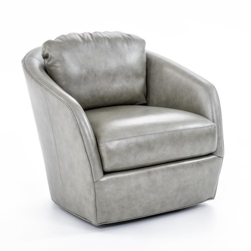 Precedent Accent Chairs Casual Upholstered Swivel Chair