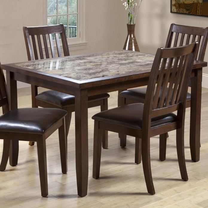 primo international 2096 rectangular dining table with