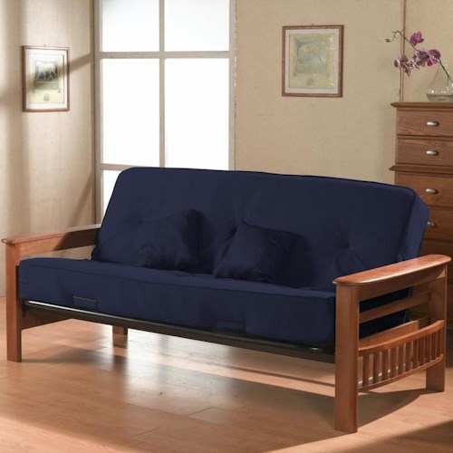 Primo International Futonz To Go Orlando Futon w/ Metal Mechanism