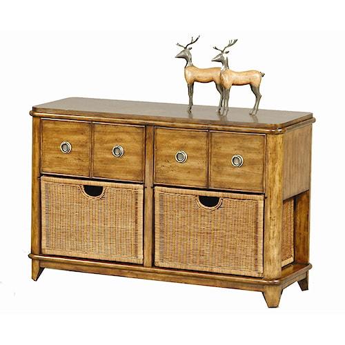 Progressive Furniture Anaronda 2 Drawer Sofa Table
