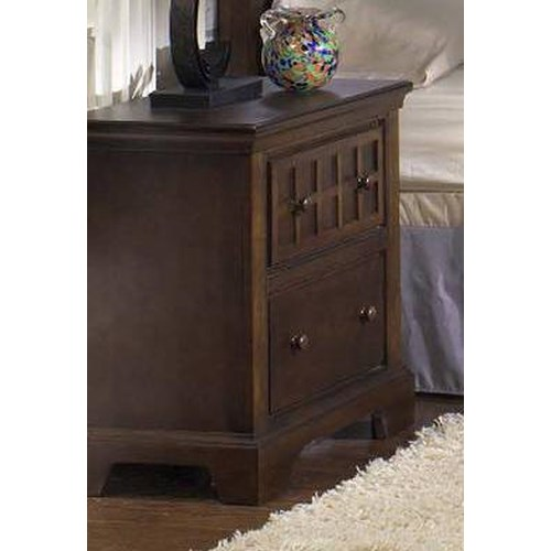 Progressive Furniture Casual Traditions Casual 2 Drawer Nightstand