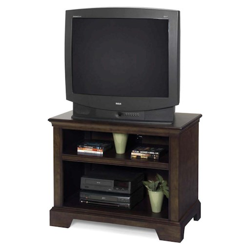 Progressive Furniture Casual Traditions Casual TV Stand with 2 Shelves