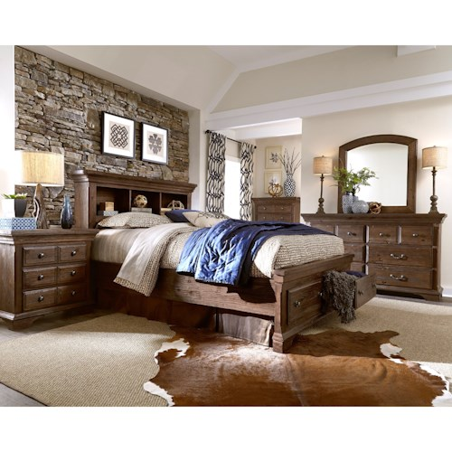 Progressive Furniture Copenhagen Queen Bedroom Group