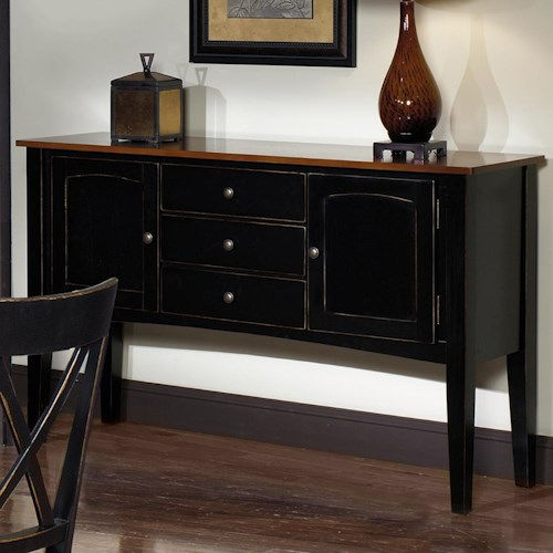Progressive Furniture Cosmo Casual Large Server