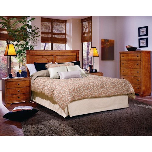 Progressive Furniture Diego King Bedroom Group