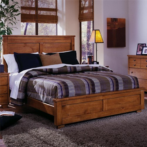 Progressive Furniture Diego Full Panel Bed