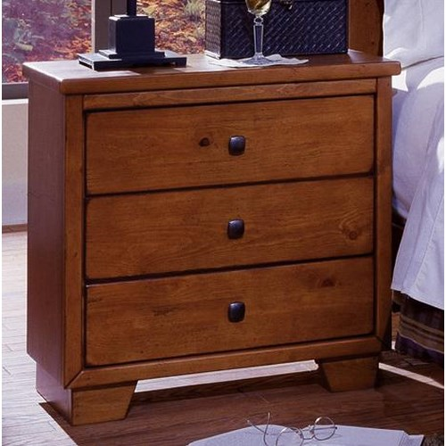 Progressive Furniture Diego Three Drawer Nightstand