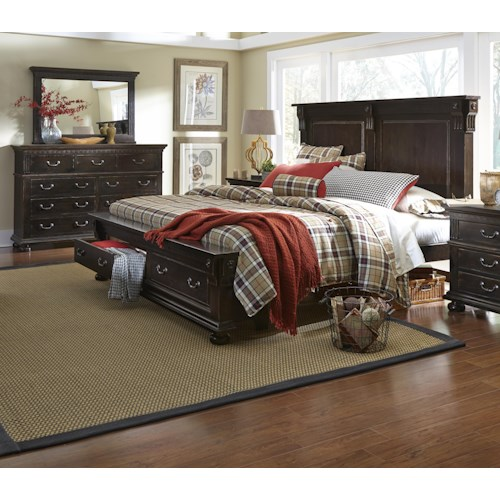 Progressive Furniture La Cantera Queen Bedroom Group