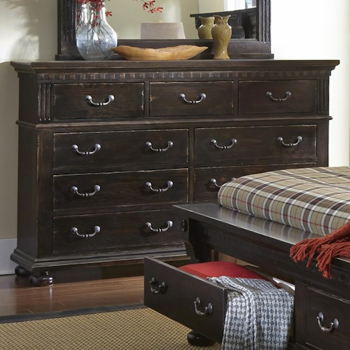 Progressive Furniture La Cantera Traditional Drawer Dresser