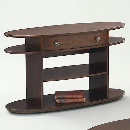 Progressive Furniture Metropolitan  Sofa Table w/ Drawer