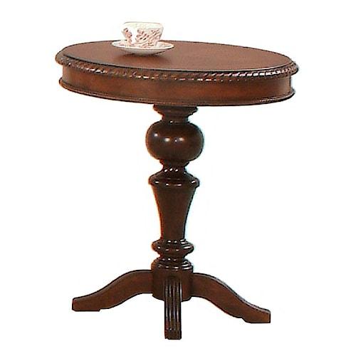 Progressive Furniture Mountain Manor Round Chairside Table