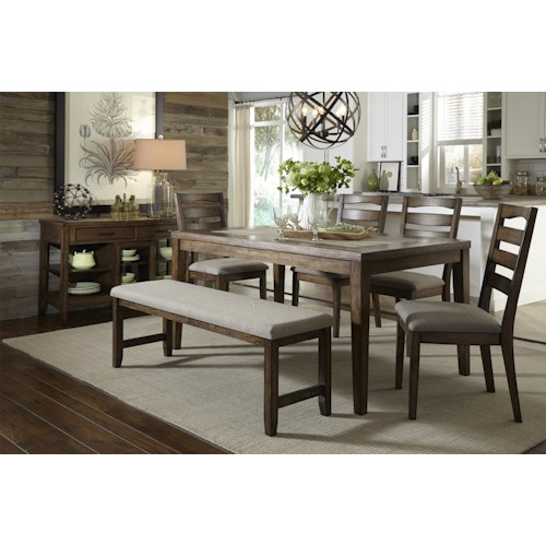 Progressive Furniture Forest Brook Casual Dining Room Group