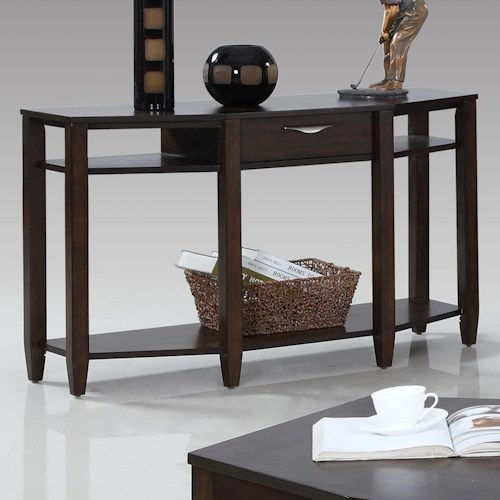 Progressive Furniture Paladium Sofa/Console Table
