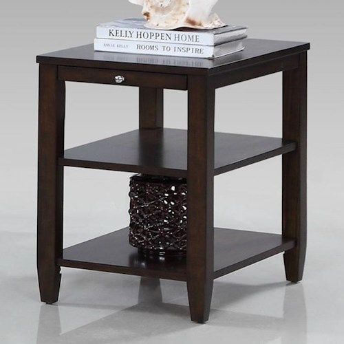 Progressive Furniture Paladium Chairside Table
