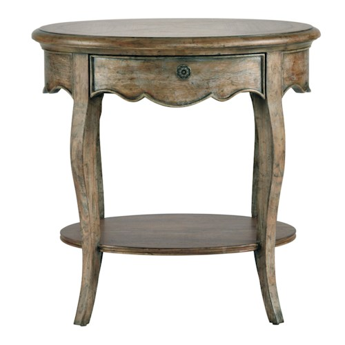 Pulaski Furniture Accentrics Home Roquette Accent Table w/ Drawer