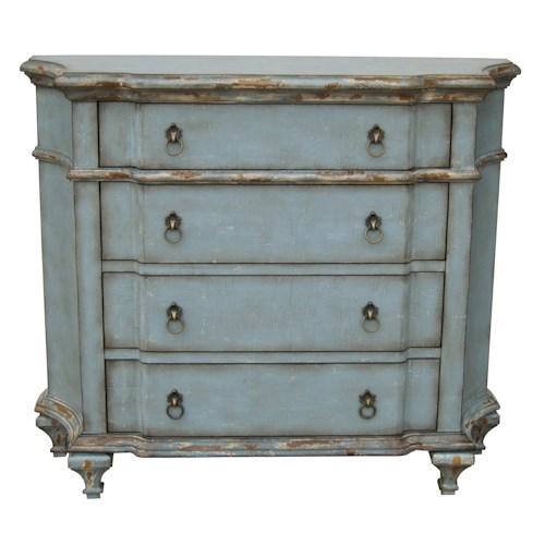 Pulaski Furniture Accents Elegant Blue Accent Chest