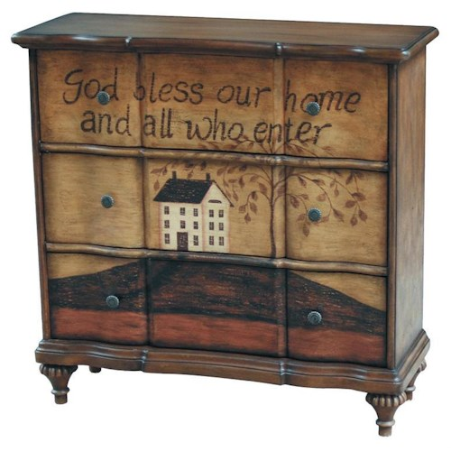 Pulaski Furniture Accents Hand Painted Chest