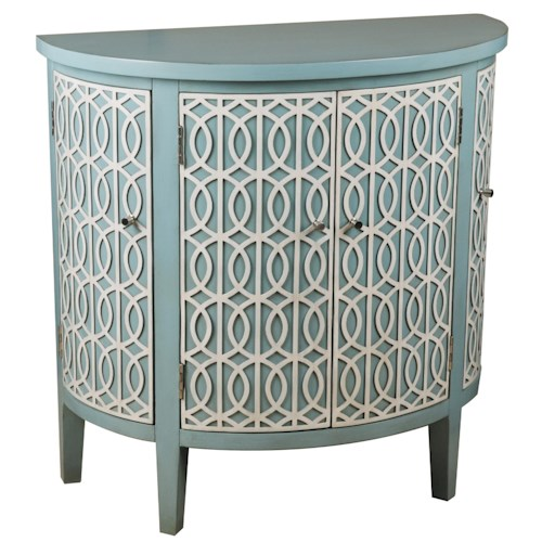 Pulaski Furniture Accents Blue Half-Round Chest