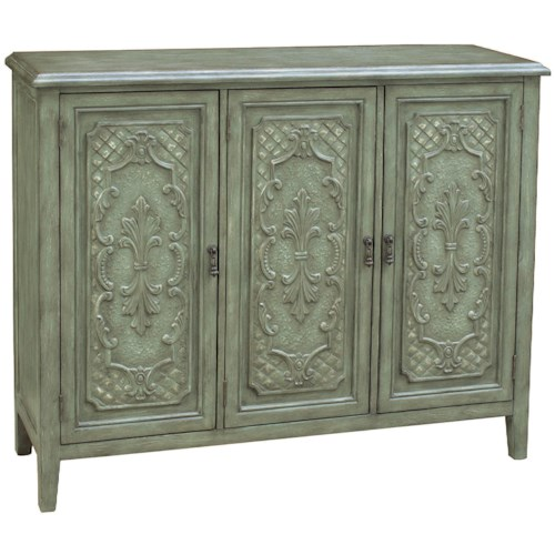 Pulaski Furniture Accents 3 Door Occasional Cabinet with Shelving