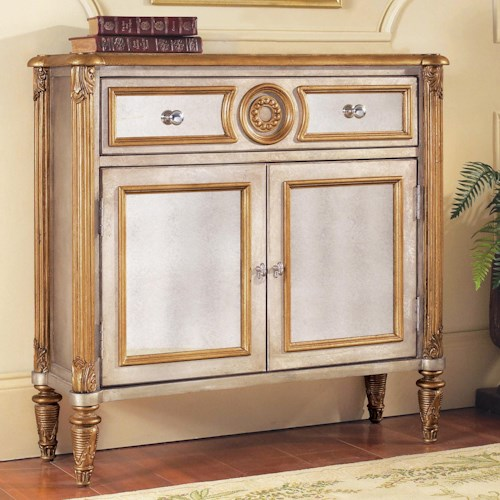 Pulaski Furniture Accents 2 Door Mirrored Hall Chest