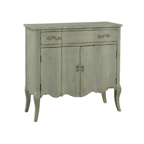 Pulaski Furniture Accents White Distressed Finish Hall Chest