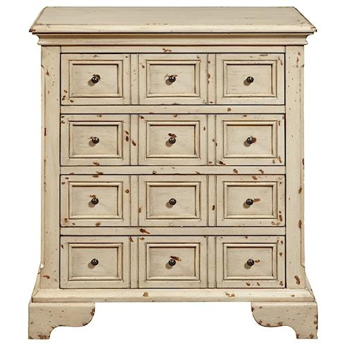 Pulaski Furniture Accents 4 Drawer Accent Chest