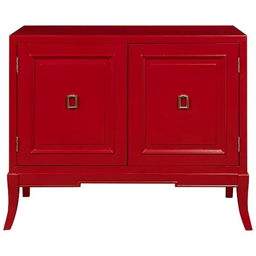 Pulaski Furniture Accents Accent Chest in Habanero Finish