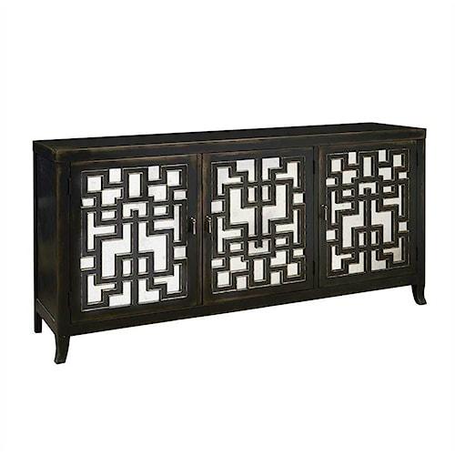 Pulaski Furniture Accents Three Door Console