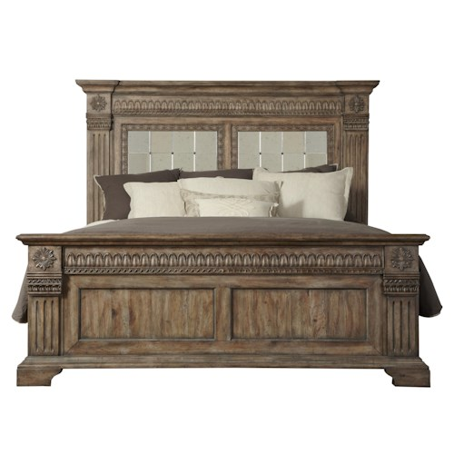 Pulaski Furniture Arabella Cal King Panel Bed