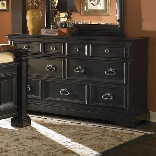 Pulaski Furniture Brookfield 9 Drawer Triple Dresser