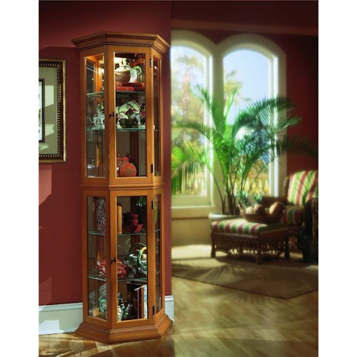 Pulaski Furniture Curios English Oak II Curio