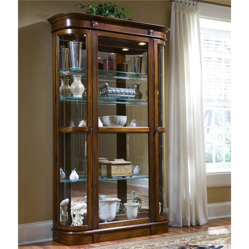 Pulaski Furniture Curios Two Door Curio Cabinet