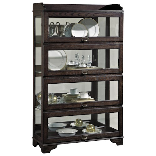 Pulaski Furniture Curios Low Sliding Front Curio