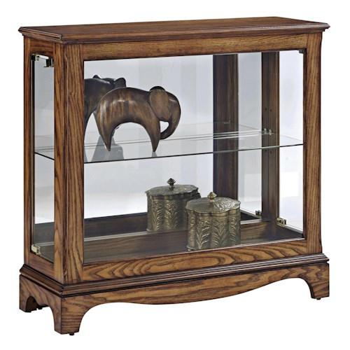 Pulaski Furniture Curios Petite Display Console