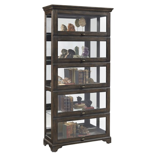 Pulaski Furniture Curios Tall Sliding Front Curio